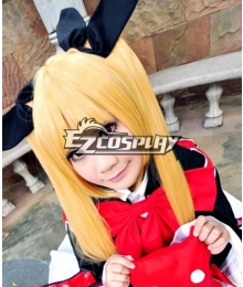 Magical Girl Lyrical Nanoha ViVid Fate Testarossa Harlaown Cosplay Wig