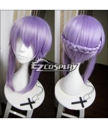 Seraph of the End Owari no Serafu Vampire Reign Shinoa Hiragi Long Purple Cosplay Wig