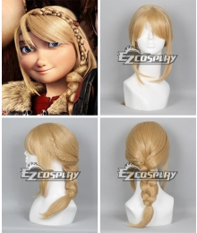 How To Train Your Dragon 2 Astrid Long Braid Cosplay Wig