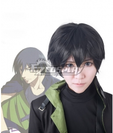 Darker Than Black Hei The Black Reaper Li Shunsheng Lee Hyunsik Cosplay Short Black Wig
