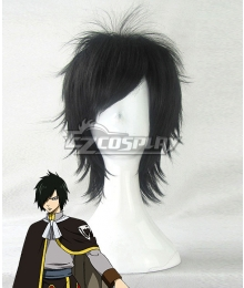 Fairy Tail Rogue Cheney Black Cosplay Wig