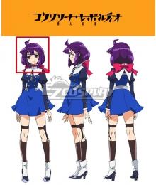 Concrete Revolutio Konkuriito Reborutio Choujin Gensou Hoshino Kikko Purple Cosplay Wig