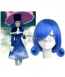 Fairy Tail Juvia Loxar Blue Cosplay Wig