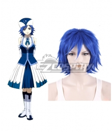 Fairy Tail Rain Woman Juvia Lockser Cosplay Wig