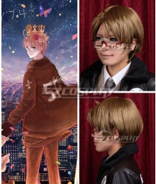 Axis Powers Hetalia American Alfred F Jones Brown Cosplay Wig