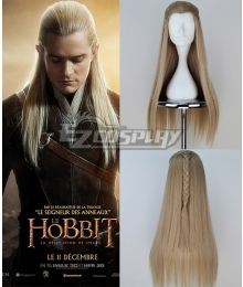 The Hobbit Prince Legolas Long Straight Cosplay Wig