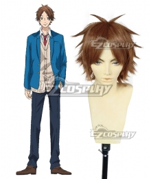 Nijiiro Days Rainbow Days Keiichi Katakura Brown Cosplay Wig