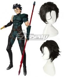Fate Zero Diarmuid Ua Duibhne Lancer Spear Cosplay Wig