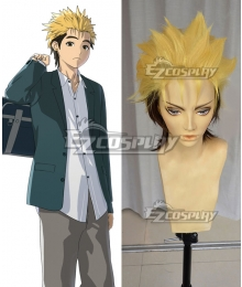 Ajin Demi Human Kaito Yellow black Cosplay Wig