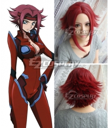 Code Geass Lelouch of the Rebellion Kallen Stadtfeld Red Cosplay Wig