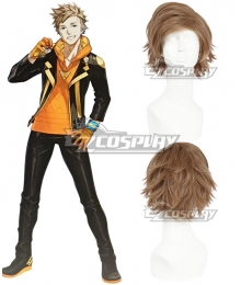 Pokemon GO Pokemon Pocket Monster Spark Team Instinct Yellow Cosplay Wig