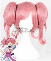 Macross Delta Macross Δ Makina Nakajima Pink Cosplay Wig
