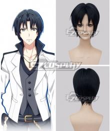 Idolish 7 Izumi Iori Dark Blue Cosplay Wig