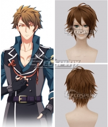 Idolish 7 Ryunosuke Tsunashi Brown Cosplay Wig