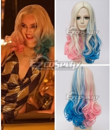 DC Detective Comics Batman Suicide Squad Task Force X Harley Quinn 2016 Movie Golden Cosplay Wig