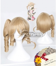 Tales of Zestiria the X Alisha Gold Cosplay Wig
