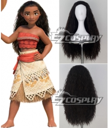 Disney Animation Moana Moana Cosplay Wig