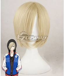 Yuri on Ice YURI!!!on ICE Plisetsky Yuri Yellow Cosplay Wig