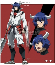 Akame Ga Kill! Susanoo Blue Cosplay Wig