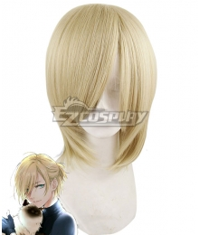 Yuri on Ice YURI!!!on ICE Plisetsky Yuri Long Light Yellow Cosplay Wig