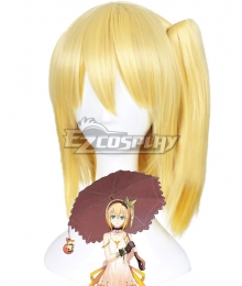 Tales of Zestiria the X Edna Golden Cosplay Wig