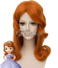 Disney Princess Sofia Sofia Light Brown Cosplay Wig