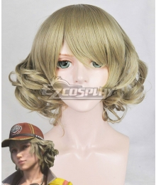 Final Fantasy XV  Cindy Aurum Light Green Cosplay Wig