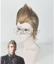 Final Fantasy XV Ignis Scientia Blonde Brown Cosplay Wig