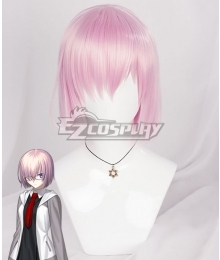 Fate Grand Order Mash Kyrielight Shielder Pink Cosplay Wig