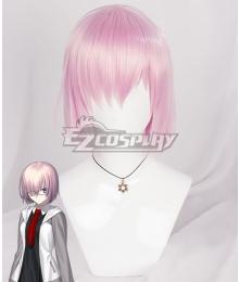 Fate Grand Order Mash Kyrielight Shielder Pink Cosplay Wig