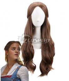 Disney Beauty and The Beast Movie 2017 Belle Deep Brown Cosplay Wig