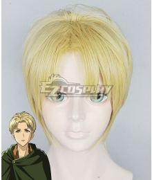 Attack on Titan Shingeki no Kyojin Nanaba Golden Cosplay Wig