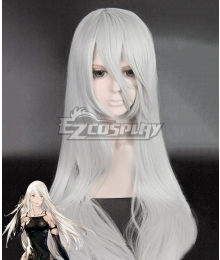 NieR: Automata YoRHa Type A No.2 A2 Silver gray Long Cosplay Wig