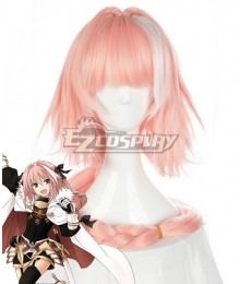 Fate Apocrypha Rider of Black Astolfo Multicolor Cosplay Wig