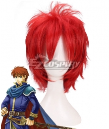 Fire Emblem Eliwood Red Cosplay Wig