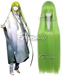 Fate Grand Order Enkidu Green Cosplay Wig