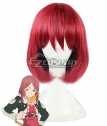 Tales of Zestiria the X Rose Red Cosplay Wig