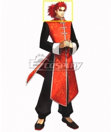 Fate EXTRA Last Encore Li Shuwen Stage 2 Red Cosplay Wig