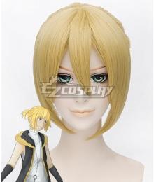 Vocaloid Kagamine Len Golden Cosplay Wig