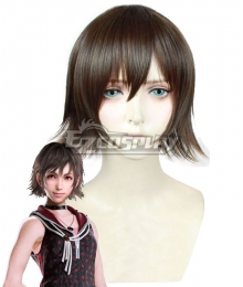 Final Fantasy XV Iris Amicitia Red brown Cosplay Wig