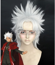 Fate Grand Order Fate Apocrypha Amakusa Shirou Tokisada Shirou Kotomine White Cosplay Wig - A Edition