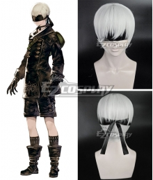 NieR: Automata 9S YoRHa No.9 Type S  Mixed white Cosplay Wig - Only Wig