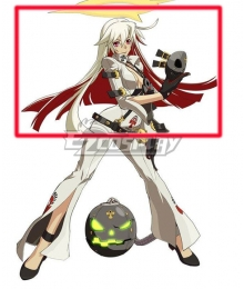 Guilty Gear Xrd Revelator Jack O Gold Red Cosplay Wig
