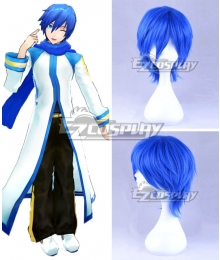 Vocaloid Kaito Blue Cosplay Wig