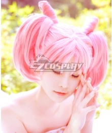 Sailor Moon Sailor Chibi Usa Pink Cosplay Wig - A Edition