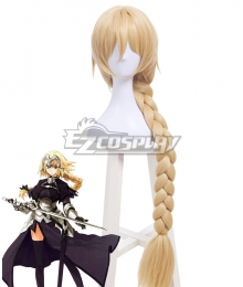 Fate Grand Order Ruler Joan of Arc Jeanne d'Arc Golden Cosplay Wig - B Edition