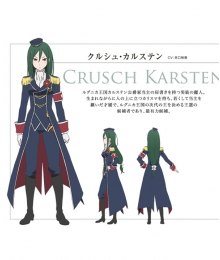 Re: Life In A Different World From Zero Crusch Karsten  Cosplay Wig