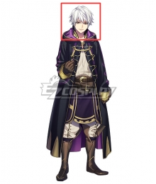 Fire Emblem: Awakening Male Robin White Cosplay Wig