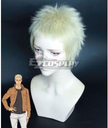 Welcome to the Ballroom Gaju Akagi Light Golden Cosplay Wig