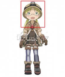 Made in Abyss Riko Yellow Cosplay Wig